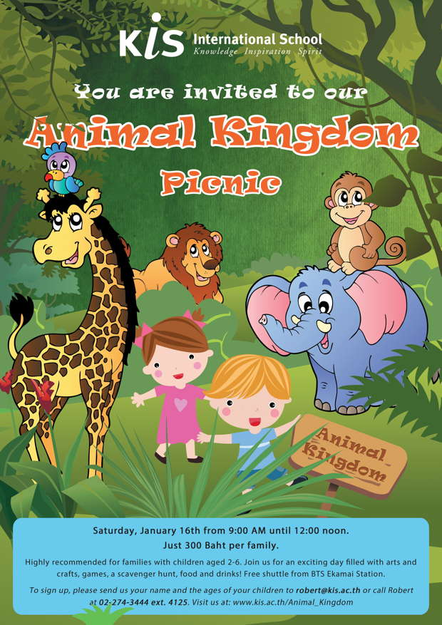 a visit to the animal kingdom